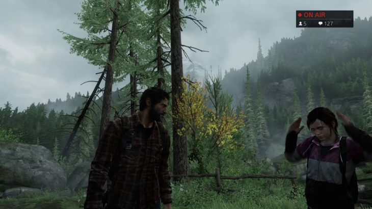 """#5 【The Last of Us-REMSTERED-】似た者同士【ゲーム実況】""""H.Kライブ"""""""