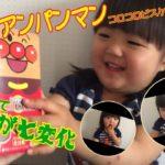 それいけ!アンパンマン食べてみた🍪食レポ?全種類コンプリート出来るかな?japanese kids