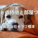 ペットの特徴と部屋づくり ペットリフォーム 愛犬家住宅 千葉県
