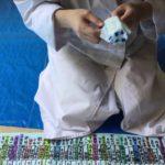 くず粉を使ったラムネ菓子を食レポ