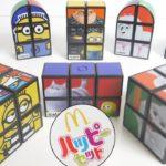 ハッピーセット ミニオン&ペット ルービックキューブ 全8種 2019/9/13~ Japanese happy meal toys Despicable Me & Pets Rubik's Cube