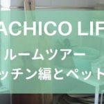 SACHICO LIFE 【ルームツアー キッチン編とペットの紹介】